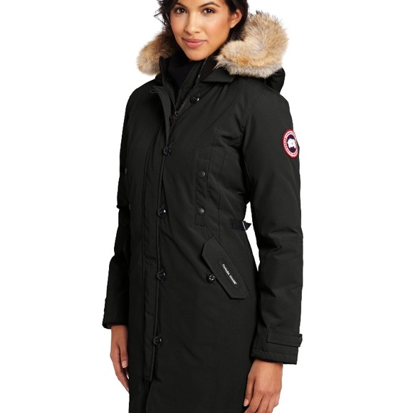 canada goose victoria parka black medium